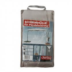 Ochranný obal pre výkyvné slnečníky až do 350 cm a 300x300 cm šedý
