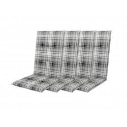START 7104 vysoký - set 4ks - poduška na stoličku a kreslo