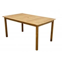 Stôl Teak 150x90 cm
