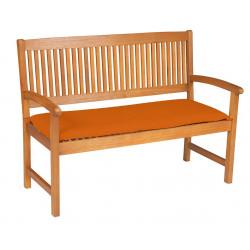 Sedák na lavicu 2sed 120x45x6 cm terakota
