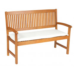 Sedák na lavicu 2sed 120x45x6 cm prírodná