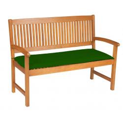 Sedák na lavicu 3sed 150x45x6 cm zelená