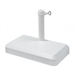 Stojan balkónový 20 kg, biely