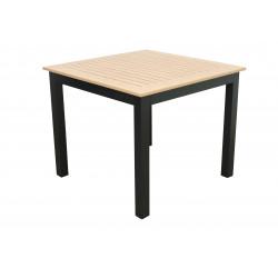 Stôl EXPERT wood antracit 90x90x75 cm