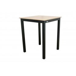 Stôl EXPERT wood antracit vysoký 90x90x110 cm