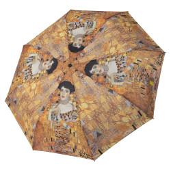 Klimt Adele - dámsky plne automatický sklápací dáždnik