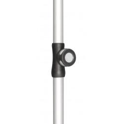 Spodná tyč pre ACTIVE 22/25 mm strieborná