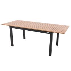 Stôl EXPERT wood antracit rozkládací 220/280x100 cm