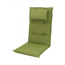 BRILLANT 7836 vysoký - poduška na stoličku a kreslo s podhlavníkom