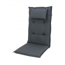 BRILLANT 7840 vysoký - poduška na stoličku a kreslo s podhlavníkom