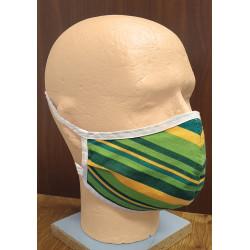 Bavlnená pánska tvárová rúška - dvojvrstvová s vreckom