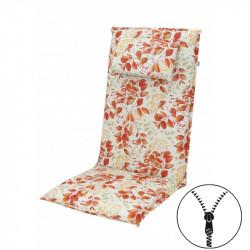 ELEGANT 2234 vysoký - poduška na stoličku a kreslo s podhlavníkom