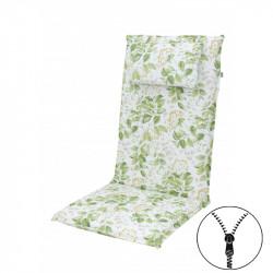 ELEGANT 2233 vysoký - poduška na stoličku a kreslo s podhlavníkom
