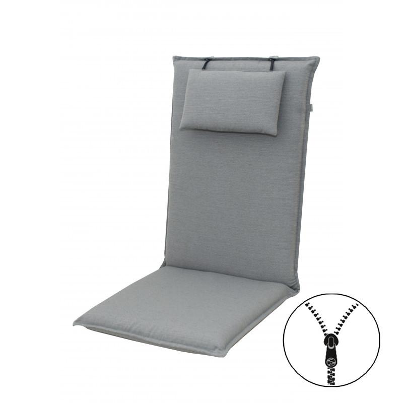 ELEGANT 2427 vysoký - poduška na stoličku a kreslo s podhlavníkom