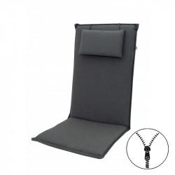 ELEGANT 2430 vysoký - poduška na stoličku a kreslo s podhlavníkom