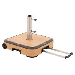 ALU WOOD TROLLEY 50kg - pojazdný stojan s kolieskami