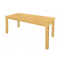DOVER - drevený stôl zo severskej borovice 165x80x74,5 cm