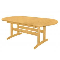 DOVER - drevený rozkladací stôl zo severskej borovice 160 / 210x90x74,5 cm