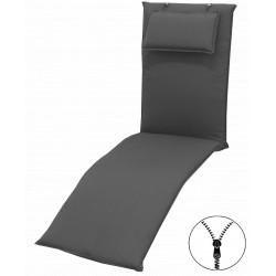 STAR UNI so zipsom 7777 relax - poduška na relaxačné kreslo s podhlavníkom
