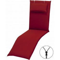 STAR UNI so zipsom 2994 relax - poduška na relaxačné kreslo s podhlavníkom