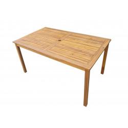 ATLAN - drevený stôl 150x90 cm