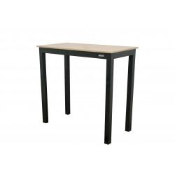 EXPERT WOOD antracit - gastro barový hliníkový stôl 119x60x110cm