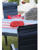 SALERNO MIAMI sivé - hliníkové záhradné sedenie 6+1/ stôl 150x90