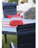 SALERNO MIAMI sivé - hliníkové záhradné sedenie 6+1