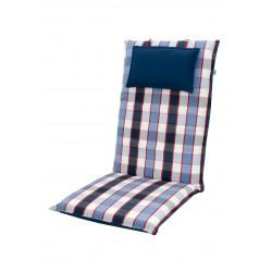 LIVING DE LUXE 5013K vysoký - poduška na stoličku a kreslo