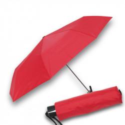 Mini Fiber Uni - dámsky červený skladací dáždnik