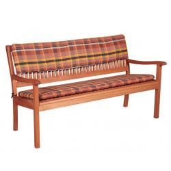 Sedák na 2-miestnu lavicu 120x45x5 cm