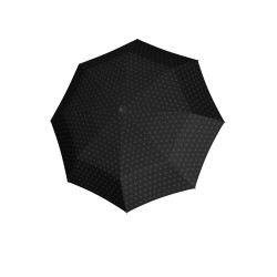 Fiber Magic Black & White - dámsky plne automatický dáždnik