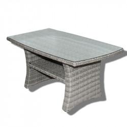 Stolík BARI - záhradný ratanový stolík