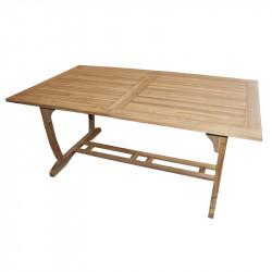 Tectona - drevený rozkladací stôl 180 / 240x100 cm