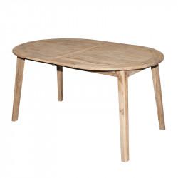 TECTONA - drevený rozkladací stôl 150 / 200x95 cm