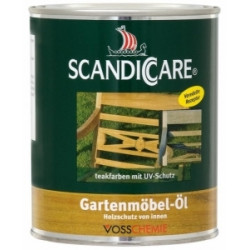 Scandiccare Olej na záhradný nábytok 1l