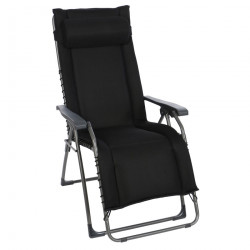 OASI DAYDREAMER čierne - polohovacie relaxačné kreslo