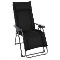 OASI DAYDREAMER XL čierne - polohovacie relaxačné kreslo