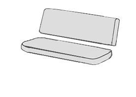 Bez zipsu (sedák a opierka zvlášť)